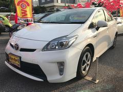 沖縄の中古車 トヨタ プリウス 車両価格 149万円 リ済込 平成26年 5.7万K ホワイト