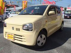 沖縄の中古車 スズキ アルト 車両価格 79万円 リ済込 平成28年 1.3万K ライトイエロー