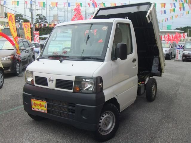 沖縄の中古車 日産 クリッパートラック 車両価格 63万円 リ済別 平成19年 2.3万km ホワイト