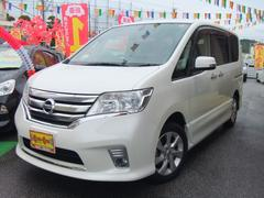 沖縄の中古車 日産 セレナ 車両価格 158万円 リ済別 平成23年 7.2万K パール