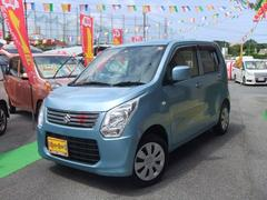 沖縄の中古車 スズキ ワゴンR 車両価格 55万円 リ済別 平成24年 7.2万K ライトブルー