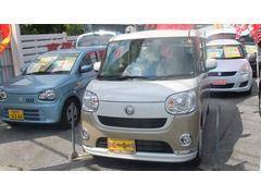 沖縄の中古車 ダイハツ ムーヴキャンバス 車両価格 155万円 リ済別 平成29年 6K ベージュ×パール