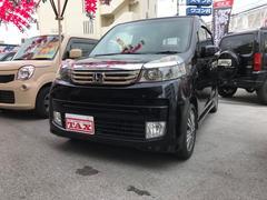 沖縄の中古車 ホンダ ライフ 車両価格 75万円 リ済別 平成24年 7.3万K ブラック
