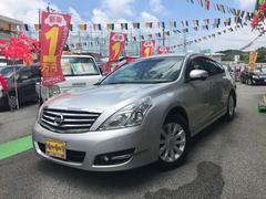 沖縄の中古車 日産 ティアナ 車両価格 ASK リ済別 平成21年 10.5万K シルバー