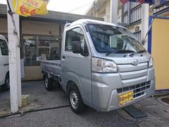 沖縄の中古車 ダイハツ ハイゼットトラック 車両価格 84万円 リ済別 平成30年 30K シルバー