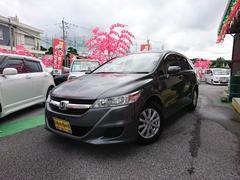 沖縄の中古車 ホンダ ストリーム 車両価格 98万円 リ済別 平成23年 6.3万K グレーM