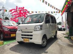 沖縄の中古車 ダイハツ ハイゼットカーゴ 車両価格 55万円 リ済込 平成24年 8.8万K ホワイト