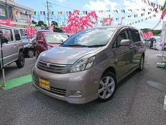 沖縄の中古車 トヨタ アイシス 車両価格 29万円 リ済込 平成18年 12.6万K グレーM
