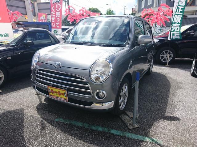 沖縄の中古車 ダイハツ ミラジーノ 車両価格 45万円 リ済込 平成20年 12.7万km グレーM