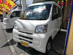 沖縄の中古車 ダイハツ ハイゼットカーゴ 車両価格 59万円 リ済込 平成24年 8.6万K ホワイト
