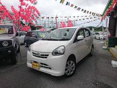 沖縄の中古車 ダイハツ ミライース 車両価格 39万円 リ済込 平成25年 9.9万K ホワイト