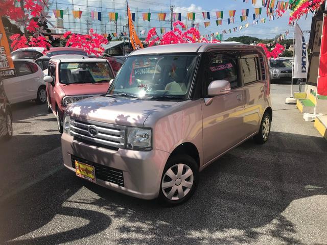 沖縄の中古車 ダイハツ ムーヴコンテ 車両価格 48万円 リ済別 平成21年 4.9万km ピンク