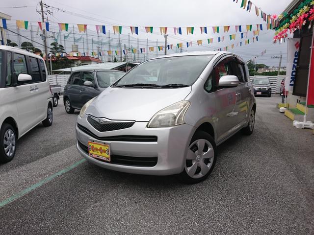 沖縄の中古車 トヨタ ラクティス 車両価格 33万円 リ済別 平成18年 10.3万km シルバー