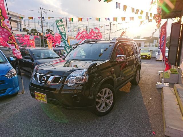 沖縄の中古車 日産 エクストレイル 車両価格 149万円 リ済別 2012(平成24)年 8.5万km ブラック