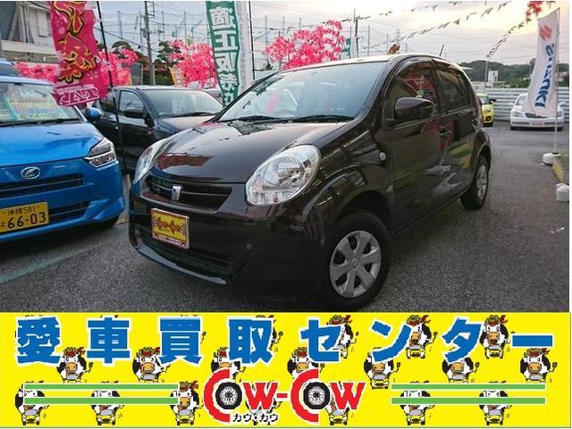 沖縄の中古車 トヨタ パッソ 車両価格 58万円 リ済込 2013(平成25)年 4.6万km ブラウン