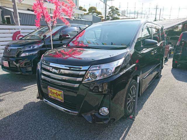 沖縄の中古車 トヨタ ノア 車両価格 229万円 リ済別 2014(平成26)年 4.0万km ワインM