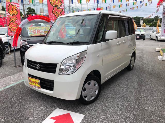 沖縄の中古車 スズキ パレット 車両価格 68万円 リ済別 2012(平成24)年 6.1万km パール