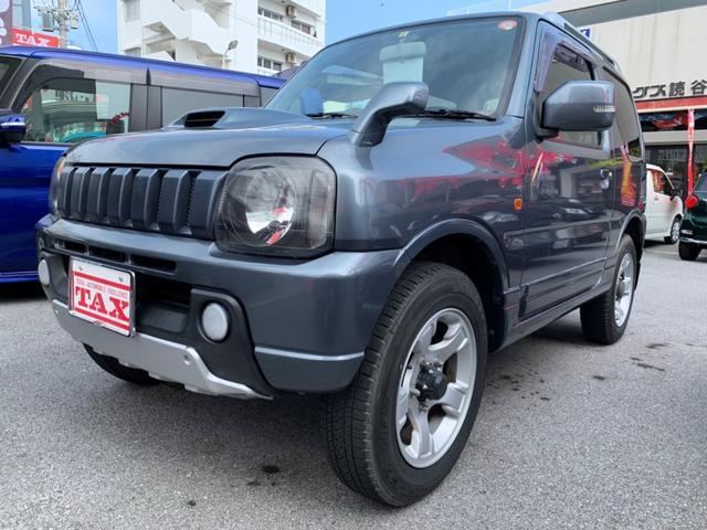 沖縄の中古車 スズキ ジムニー 車両価格 ASK リ済別 2004(平成16)年 9.3万km グレー