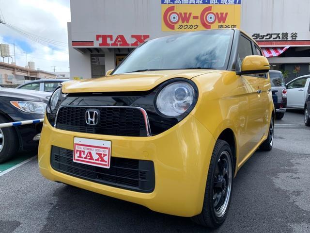 沖縄の中古車 ホンダ N-ONE 車両価格 83万円 リ済別 2014(平成26)年 6.1万km イエロー