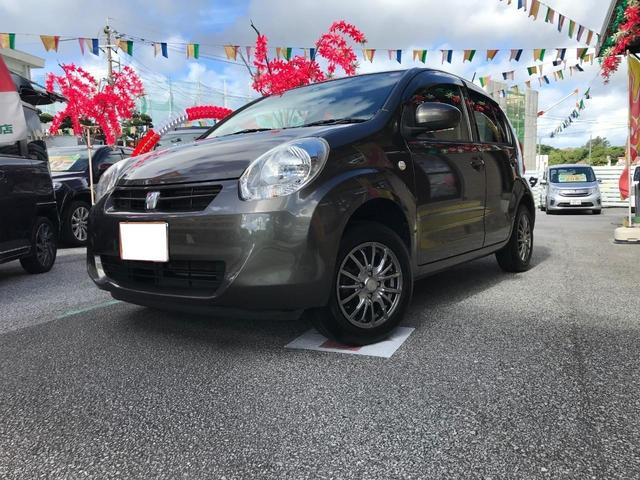 沖縄の中古車 トヨタ パッソ 車両価格 39万円 リ済込 2012(平成24)年 8.8万km グリーンM
