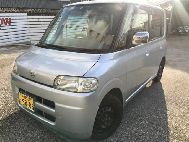 沖縄の中古車 ダイハツ タント 車両価格 19万円 リ済別 2005(平成17)年 13.6万km シルバー