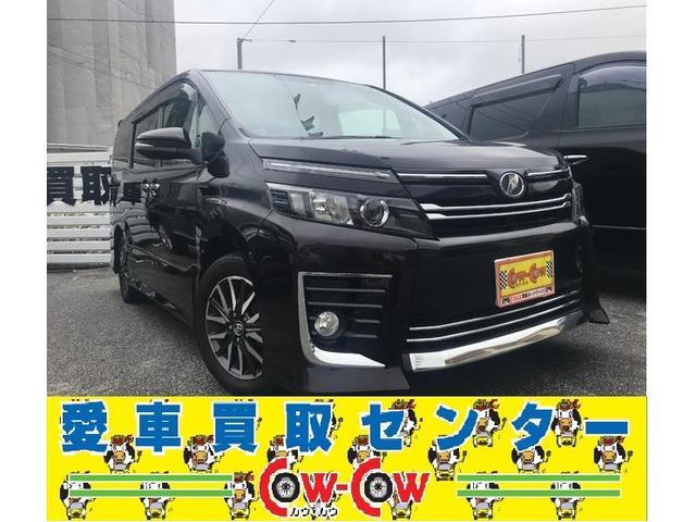 沖縄の中古車 トヨタ ヴォクシー 車両価格 229万円 リ済別 2014(平成26)年 3.7万km ワイン