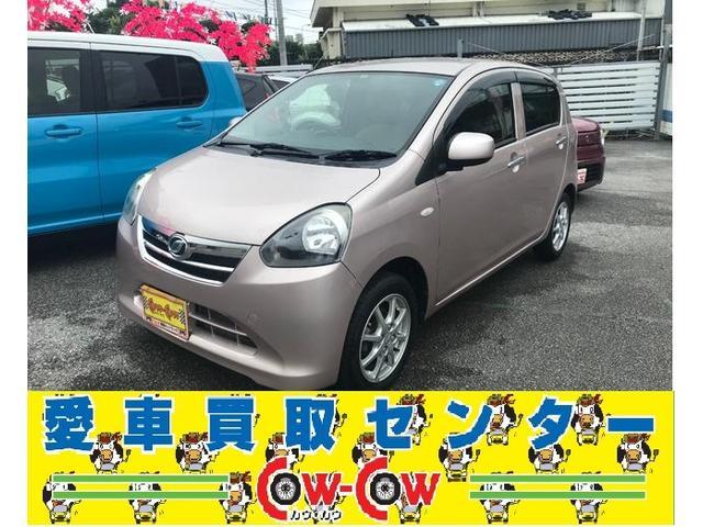 沖縄の中古車 ダイハツ ミライース 車両価格 49万円 リ済別 2013(平成25)年 4.3万km ピンク