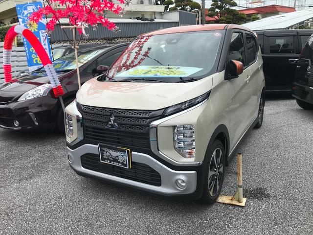沖縄の中古車 三菱 eKクロス 車両価格 ASK リ済別 2019(令和1)年 4km オレンジ