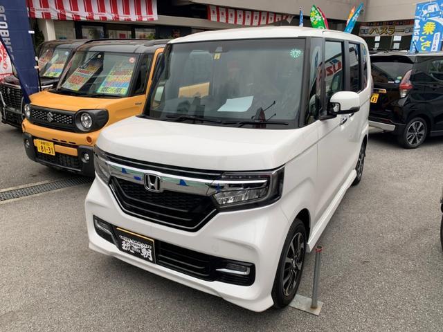沖縄の中古車 ホンダ N-BOXカスタム 車両価格 ASK リ済別 2020(令和2)年 9km パール