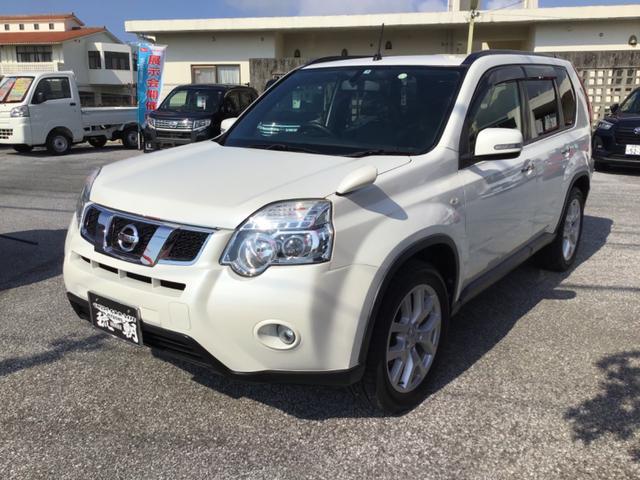 沖縄の中古車 日産 エクストレイル 車両価格 139万円 リ済別 2013(平成25)年 8.6万km パール