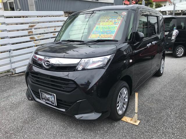 沖縄の中古車 ダイハツ トール 車両価格 153万円 リ済別 2019(平成31)年 1.3万km ブラックM
