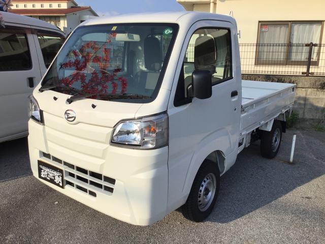 沖縄の中古車 ダイハツ ハイゼットトラック 車両価格 95万円 リ済込 2019(令和1)年 6km ホワイト