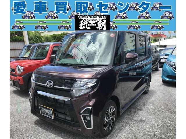 沖縄の中古車 ダイハツ タント 車両価格 173万円 リ済込 2019(令和1)年 30km ブラウン