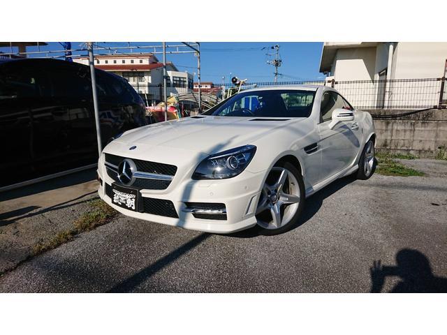 沖縄の中古車 メルセデス・ベンツ SLK 車両価格 ASK リ済込 2012(平成24)年 4.9万km ホワイト
