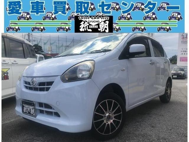 沖縄の中古車 ダイハツ ミライース 車両価格 ASK リ済込 2012(平成24)年 2.7万km ブルー