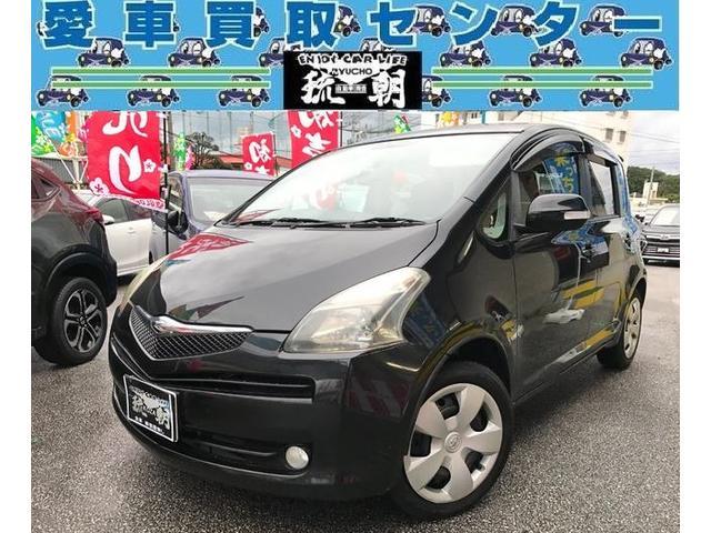沖縄の中古車 トヨタ ラクティス 車両価格 19万円 リ済込 2007(平成19)年 14.8万km ブラックM