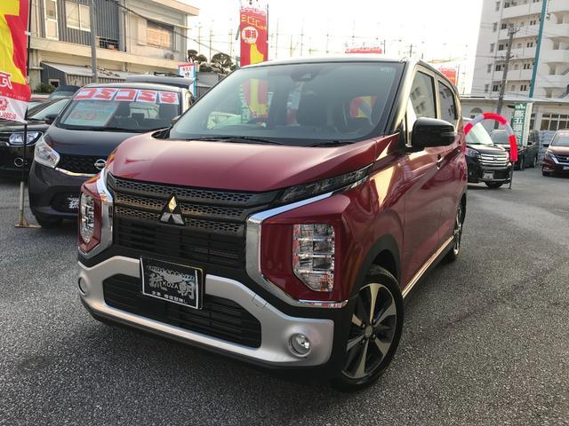 沖縄の中古車 三菱 eKクロス 車両価格 163万円 リ済込 2020(令和2)年 41km レッドII