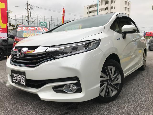 沖縄の中古車 ホンダ シャトル 車両価格 159万円 リ済込 2016(平成28)年 4.7万km パール