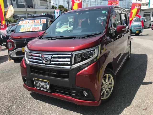 沖縄の中古車 ダイハツ ムーヴ 車両価格 108万円 リ済込 2015(平成27)年 2.8万km ダークレッド