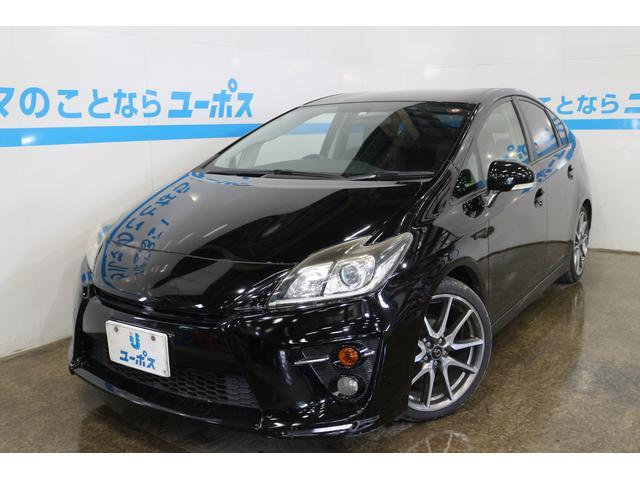 沖縄の中古車 トヨタ プリウス 車両価格 127万円 リ済別 2012(平成24)年 8.4万km ブラック