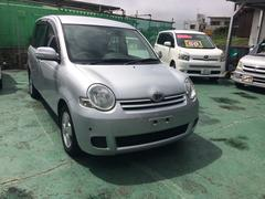 沖縄の中古車 トヨタ シエンタ 車両価格 30万円 リ済込 平成19年 7.9万K シルバー