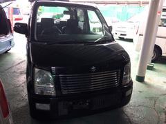 沖縄の中古車 スズキ ワゴンR 車両価格 19万円 リ済込 平成17年 12.1万K ブラック