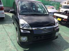 沖縄の中古車 スバル ステラ 車両価格 29万円 リ済込 平成19年 4.3万K ブラック