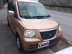 沖縄の中古車 三菱 eKクラッシィ 車両価格 15万円 リ済込 平成17年 10.5万K ライトブラウン