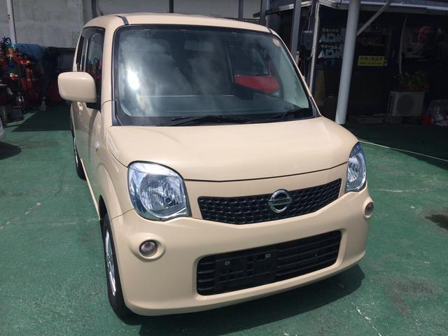 沖縄の中古車 日産 モコ 車両価格 37万円 リ済込 2012(平成24)年 7.1万km ライトイエロー
