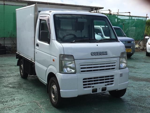 沖縄の中古車 スズキ キャリイトラック 車両価格 35万円 リ済込 平成19年 12.6万km ホワイト