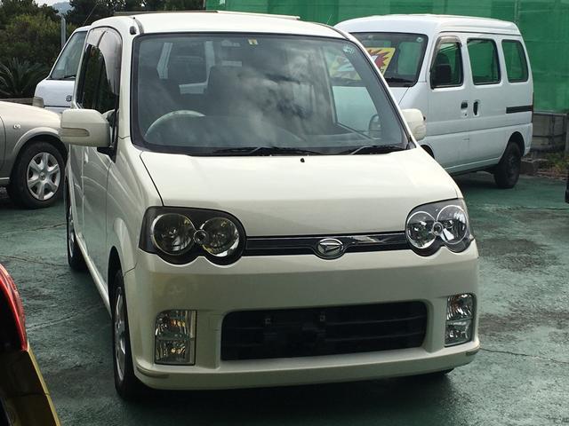 沖縄の中古車 ダイハツ ムーヴ 車両価格 19万円 リ済込 平成17年 5.8万km ホワイト