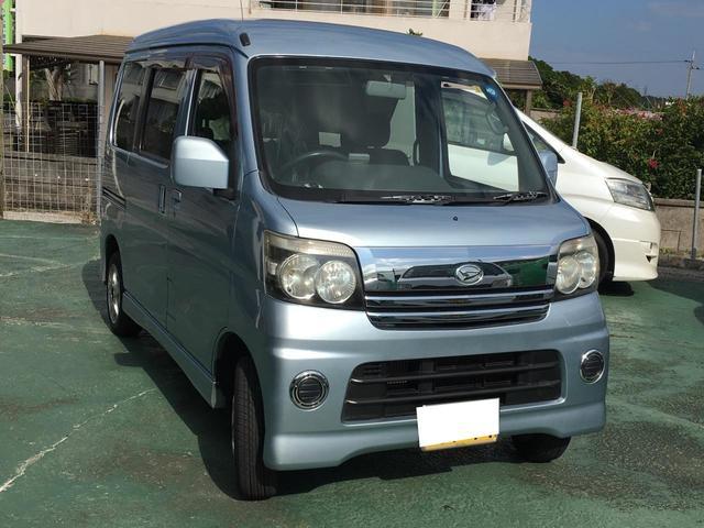 沖縄の中古車 ダイハツ アトレーワゴン 車両価格 29万円 リ済込 平成18年 16.2万km ブルーII