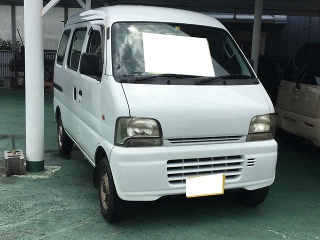 沖縄の中古車 スズキ エブリイ 車両価格 17万円 リ済込 2004(平成16)年 8.1万km ホワイト