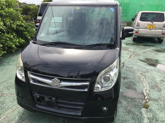 沖縄の中古車 スズキ パレット 車両価格 39万円 リ済込 2009(平成21)年 6.2万km ブラック